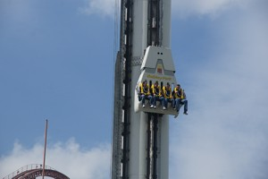 Anubis Free Fall Tower - Holiday Park