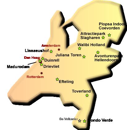 karte niederlande holland